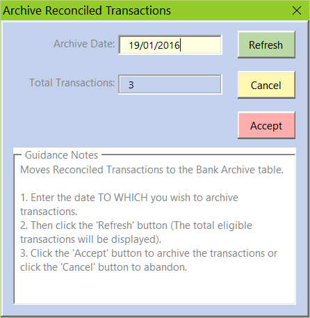 BA Archive Transactions Image